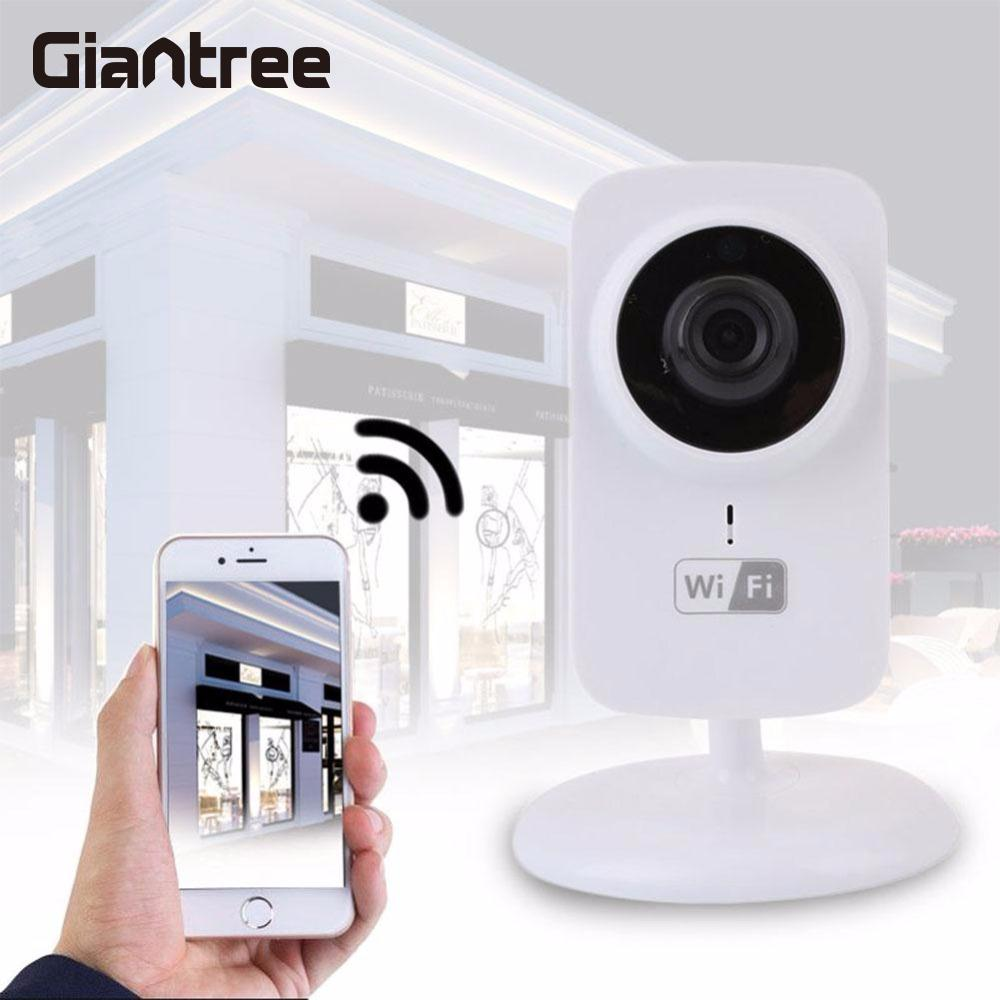 giantree Mini HD 720P Wireless IP Camera Video Surveillance Infrared Night Vision Security Baby monitor Home Safety Camera giantree recorder hd ip camera 360 degrees baby monitor wireless network camera night vision audio video home surveillance