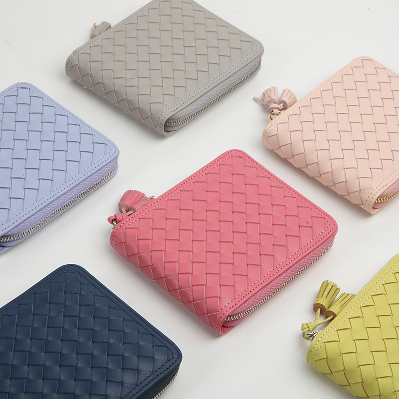 EMMA YAO leather wallet female fashion leather coin purses & holders brand wallet case цены