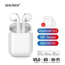 SCELTECH Y22 Wireless Bluetooth 5.0 Earphone HIFI TWS Earphones Touch control Earbuds