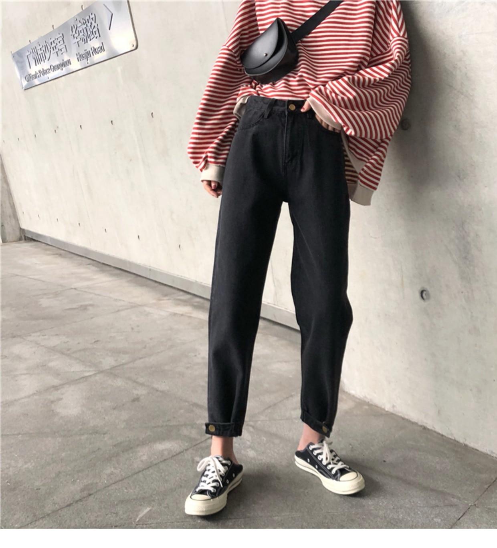 c36cd09953a6 2019 Mihoshop Ulzzang Korean Korea Women Fashion Clothing High Waist ...