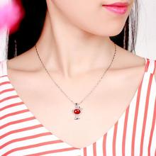 Everoyal New Arrival Lady Silver 925 Clavicle Necklace Jewelry Female Fashion Crystal Dog Pendant For Women Accessories