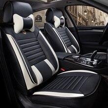 цена на Leather auto universal car seat cover covers for ford focus 1 2 3 mk2 mondeo 3 4 mk3 mk4 kuga 2 daewoo sedan 2010 2011 2012 2013