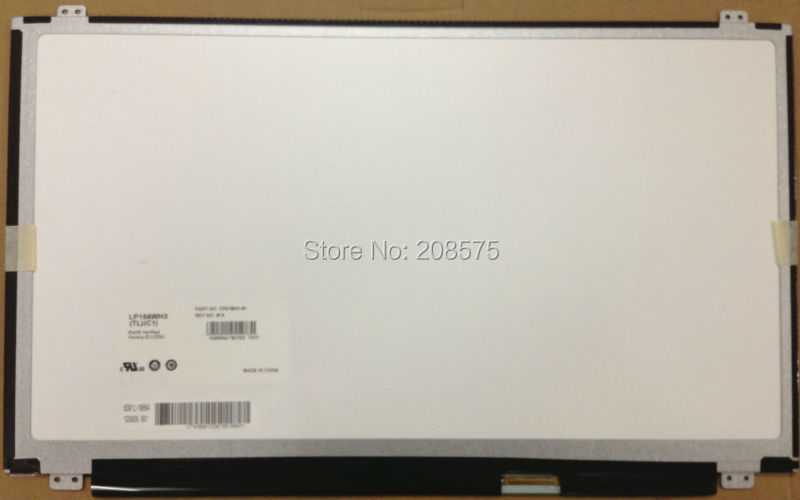 Free shipping LP156WH3 TLC1 LTN156AT20 B156XW03 B156XW04 15.6 WXGA HD LED NEW LED Display Laptop Screen free shipping nt156whm n42 lp156wh3 tps1 lp156whu tpa1 n156bge ea1 eb1 b156xw04 v 8 v 7 b156xtn03 1 30pin display laptop screen