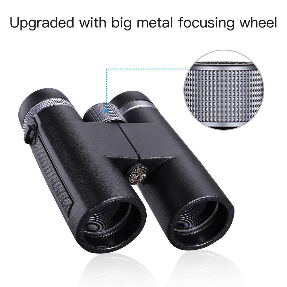 Image 4 - 12x42 Binoculars Telescope BAK4 Waterproof Super Multi Coating High Power Prism Optics HD for Camping Hunting Tools-in Monocular/Binoculars from Sports & Entertainment