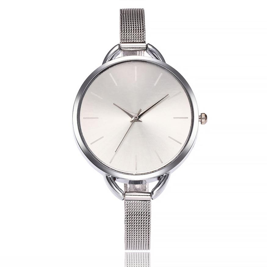 2018 Selling fashion watches Hot fashion creative vansvar Casual Quartz Stainless Steel Band Newv Strap Watch Analog Wrist Watch vansvar fashion creative watch women s casual quartz leather band new strap watch analog wrist watch gift relogio feminino