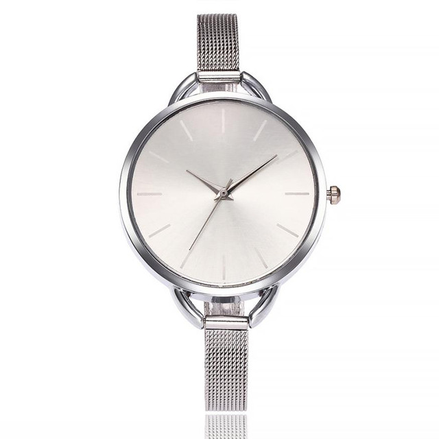 Women's Watches Luxury Elegant Ladies Stainless Steel Wrist Watch Female Clock A