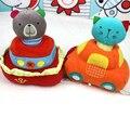 Barco de tráfego Brinquedos sineta do bebê Crianças bonito stuffed educacional chocalhos animais urso de pelúcia brinquedos presentes de natal Brinquedo TO103