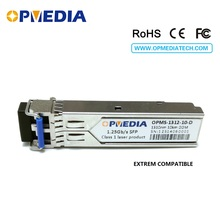 цена на EXTREM compatible SFP-LX-SM,1.25G 1310nm 10KM SFP transceiver,1000base LX  SFP optical module,DDM,LC connector,Free shipping