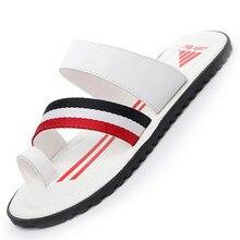 Men Summer Shoes Mens Flip Flops Anti-slip Cover Toe Outdoor Beach Slippers Men Chaussure Homme Zapatos De Hombre Chinelo