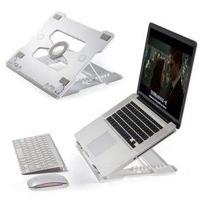 Image 1 - 유니버설 휴대용 노트북 스탠드 노트북 스탠드 홀더 접이식 알루미늄 삼성 전자 맥북 에어 13 프로에 대한 조절 가능