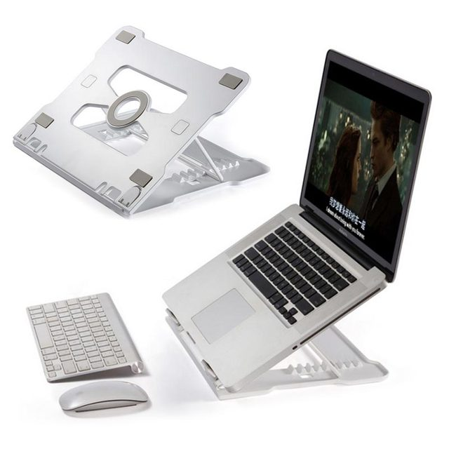 Support universel pour ordinateur portable support pour ordinateur portable support pliant en aluminium avec refroidissement réglable pour Samsung MacBook Air 13 Pro