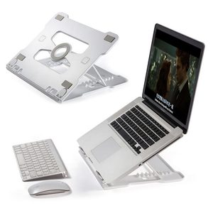 Image 1 - Universal Portable Laptop Stand Notebook Stands Holder Folding Aluminum With cooling Adjustable For Samsung MacBook Air 13 Pro