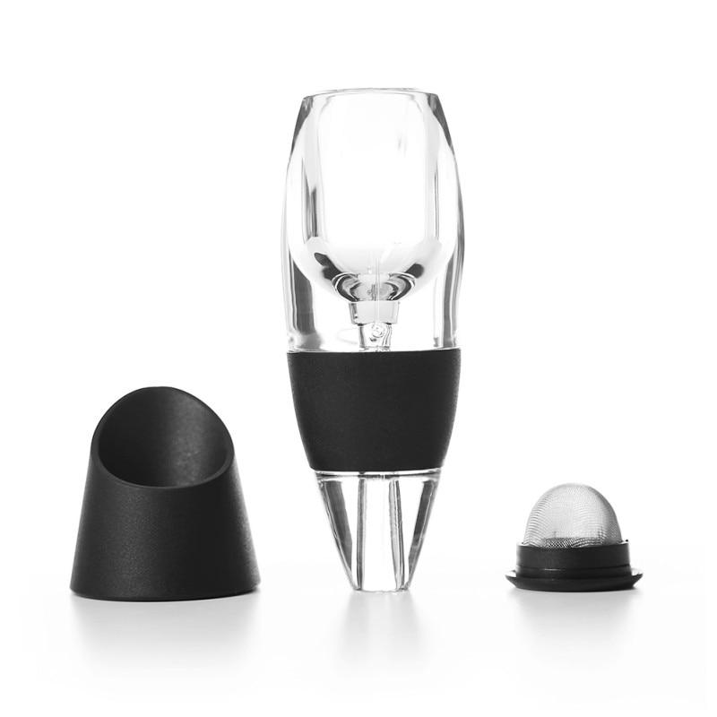 Filtro Aerador Vinho tinto Vinho Aerador Magia Decanter Essencial Conjunto Caixa de Presente Novo