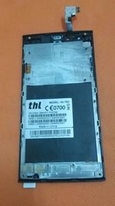 Image 2 - الأصلي شاشة اللمس + شاشة lcd + الإطار ل thl T6C 5.0 بوصة mtk 6580 رباعية النواة شحن مجاني