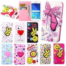 Phone Case For Samsung Galaxy S6 G9200 Leather Wallet+Soft Case Fundas for samsung s6 Flip Cute Cartoon TPU Protective Cover