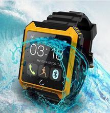 Bluetooth smart watch uterra wasserdicht ip68 schrittzähler smartwatch armbanduhr für iphone android samsung htc