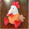 25  30cm 50cm Kawaii  Plush Toys Lovely Chicken  Doll Chinese zodiac Girl Chicken Baby Birthday Gift Pillow
