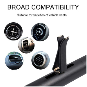 Image 4 - Car Air Freshener Vehicle Vent Clip 5 Scents Diffuser with Refill Bars Solid Air Purifier for Car Home Bathroom Office LG002