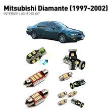 Led interior lights For mitsubishi diamante 1997-2002  11pc Led Lights For Cars lighting kit automotive bulbs Canbus цена в Москве и Питере