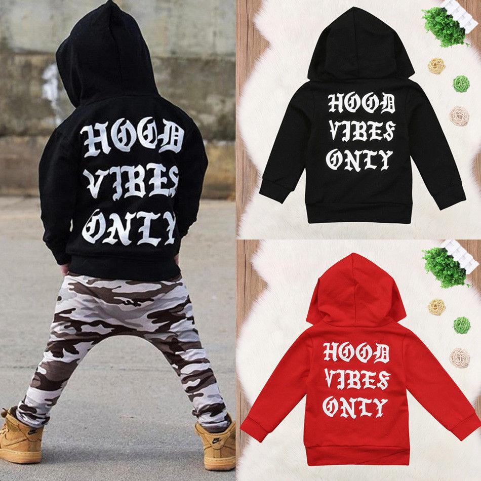Fashion Toddler Newborn Baby Boy Girl Clothes Hoodie Tops Hooded Sweatshirt Outdoor coat