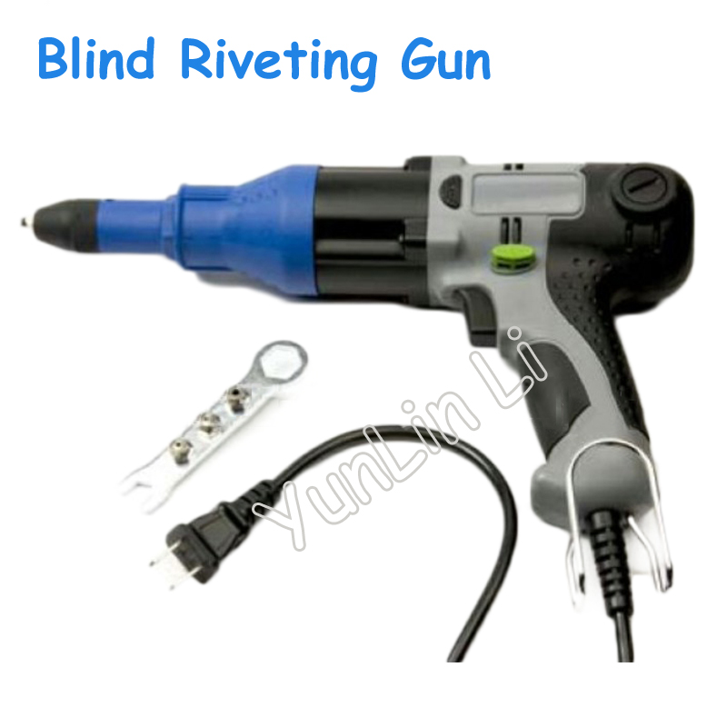 Electric Rivet Guns 220V Blind Riveting Gun Pump Core Electric Riveting Gun Suitable For Aluminum Core Rivets UP-48B