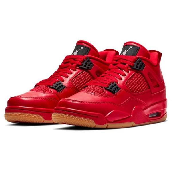 regarder f6361 99904 US $55.85 |Gym red Jordan Retro 11 Basketball shoes Bred Singles Day Jordan  4 Suede Win Like 96 Grateful men Sport Sneakers Flu Game-in Basketball ...