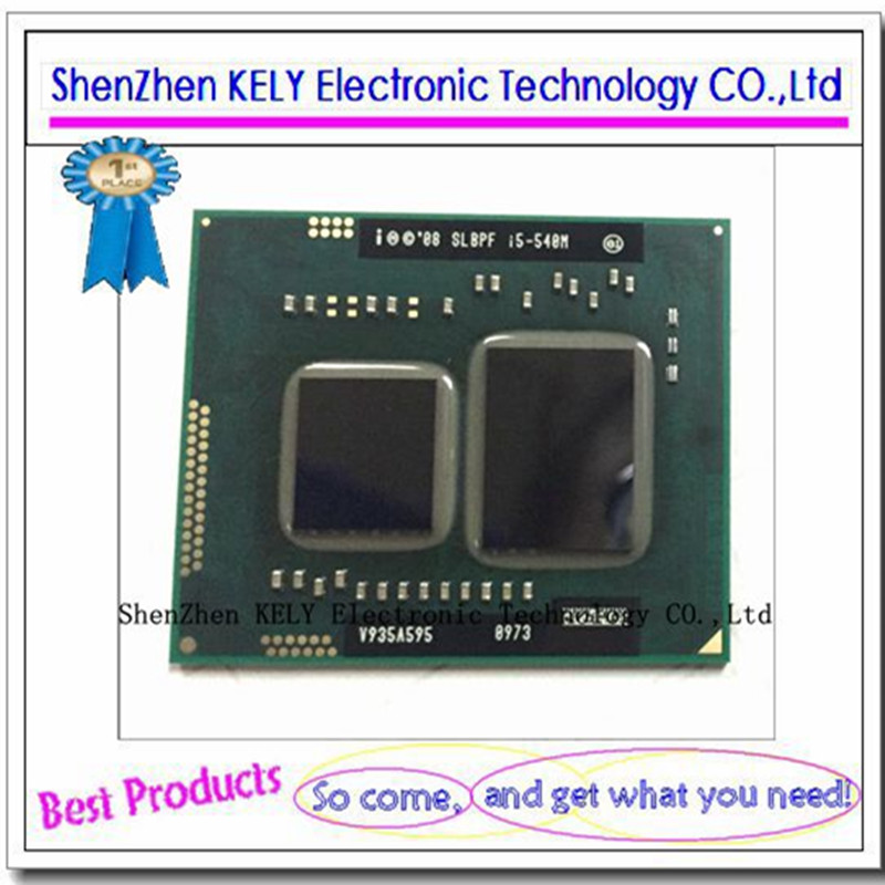 100 New original I5 540M SLBPF CPU BGA chipset