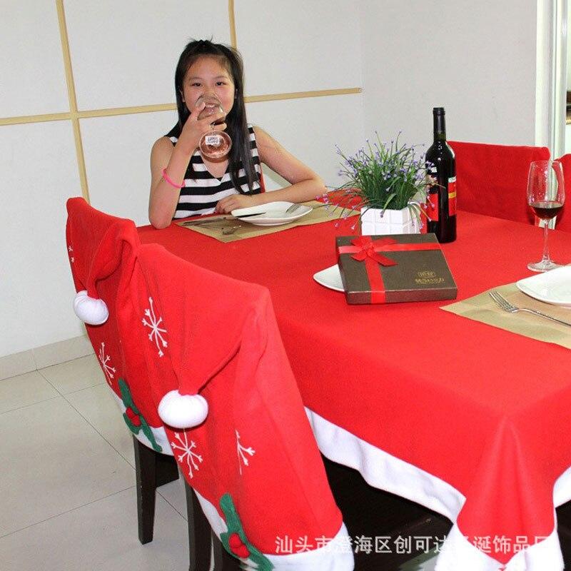 caliente rojo rectngulo mantel pao de tabla cubierta de tabla decoracin textil para la navidad