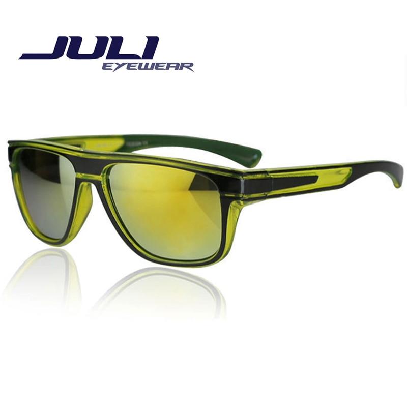 Juli новый солнцезащитные очки красочные классические очки