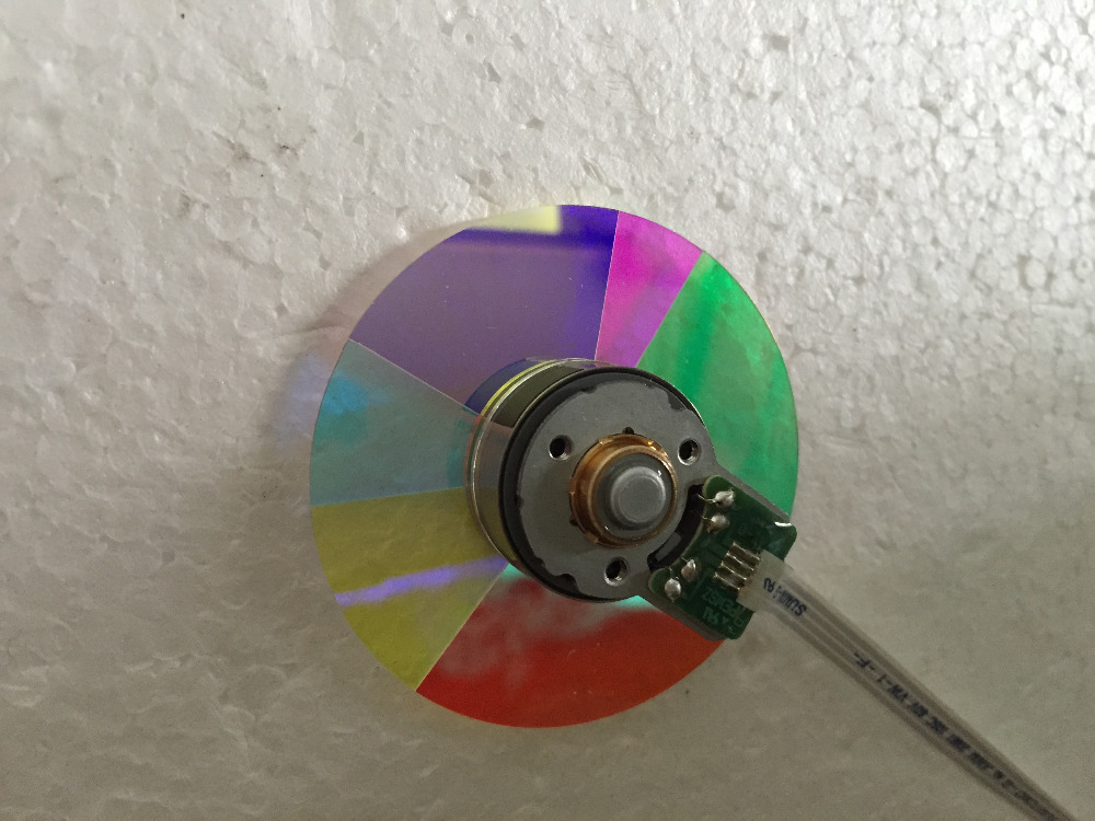 Wholesale Original Projector color wheel  for OPTOMA HD72I Color wheel projector color wheel for optoma hd66 hd67n