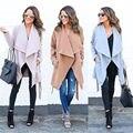 Женщины Теплый Мода Капюшоном С Длинным Пальто Куртки Ветровка Куртка Верхняя Одежда