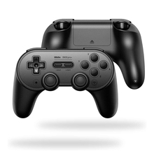 Original 8Bitdo SN30 PRO + Bluetooth Wireless Gamepad Controller 6 Axis motion sensor Game pad For Windows Android macOS Steam professional sn30 pro sf30 pro wireless bluetooth game controller with joystick for windows android macos steam nintendo switch