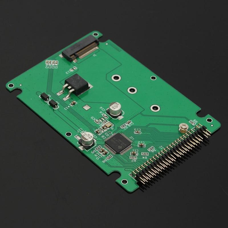 44 Pin M.2 NGFF SATA SSD To 2.5 IDE SATA SSD Converter SATA Adapter Card IDE Adaptor Convertor B+M Key