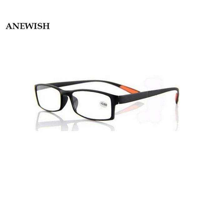 bd99916cf Das Mulheres Dos Homens Macio flexível TR90 Quadro Óculos de Lentes de  Resina Óculos de Leitura