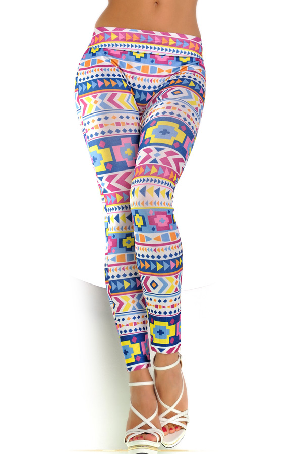 Women Leggings for Girl Skinny Stretch Pencil Pants Fake Jean Solid Print Pattern Ankle Length drop shipping Promotion 66