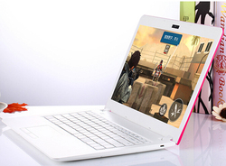 14 pulgadas 2G RAM 32G dual Core Wifi HDMI ultrafino mini PC portátil Celeron Windows 7 sistema Ultrabook 8 10