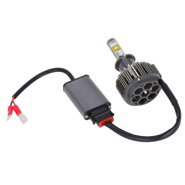 Paired K7 H1 60W 3800LM Integrated LED Vehicle Headlight Heat Dissipation Automobile Vibration Resistance Plug And Play