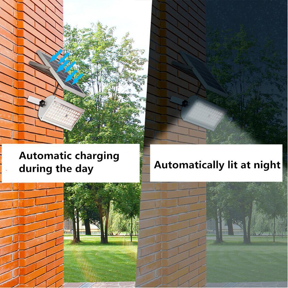 Solar Night Light Sensor de Movimento À