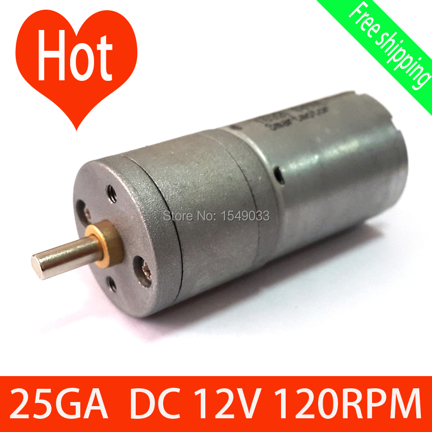 Buy 120rpm 12v Dc Motor Powerful High