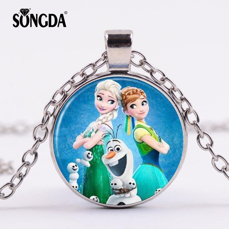 Patch Crown Locket /& Ring Set Disney/'s Frozen ® Girls Anna Headband with Braid