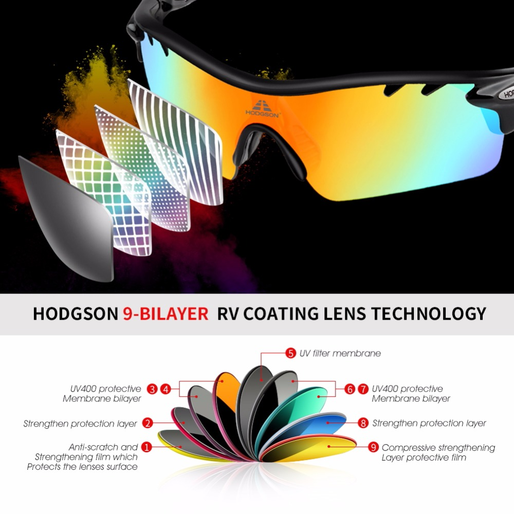 5ed19f21660 8004 HODGSON Brand New Designed Anti fog Cycling Glasses Sports Eyewear  Bicycle Goggles Bike Sunglasses with 2 Polarized Lenses-in Cycling Eyewear  from ...