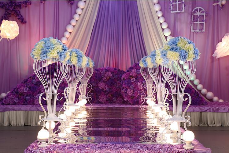 il trasporto libero nuovo vaso di fiori fiore rack di piombo sistemazione matrimonio wedding