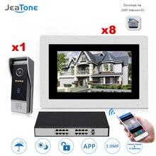 JEATONE IP Video Door Phone Intercom Touch Screen