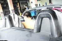 Стайлинга автомобилей 09 16 E89 Z4 углеродного волокна крышками поверхности сиденья Стикеры s Для BMW Z4 мест Стикеры аксессуары