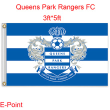 England Queens Park Rangers FC decoration Flag A 3ft*5ft (150cm*90cm)