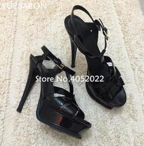 842f26070d8c2 Yue Jabon Platform Women High Heels Sandals Lady Shoes