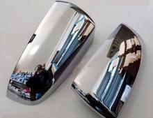 For BMW X5 E70 2008 2009 2010 2011 2012 2013  Exterior ABS Chrome Car Side Mirror Rearview Cover Trims  2pcs