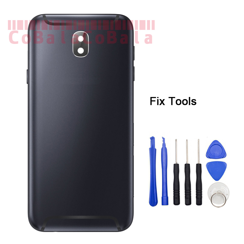LOVAIN 1Pcs For Samsung Galaxy J3 J5 J7 Pro 2017 J730 J530 J330 Back Battery Cover Housing Rear Frame Bezel Door+Tools