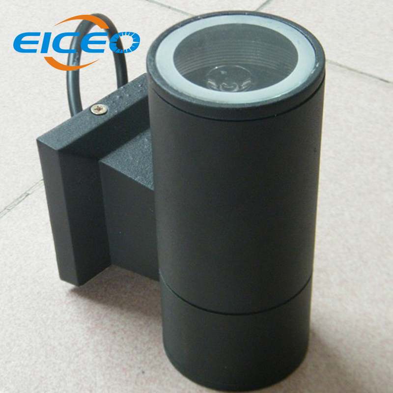 (EICEO) Hot One Side Light LED Wall Lamp Outdoor Waterproof Porch Garden Wall Lighting Bulkhead Gray/Black Free Shipping Lamps vitacci vitacci 17095 11