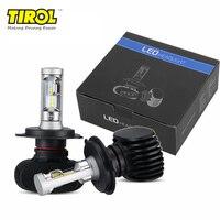 2 PCS/Lot Universal Car Headlight Kit LED H4 HB3 9005 HB4 9006 H11 H7 H8 50W/set 8000lm CSP Bulb Auto Head Lamp